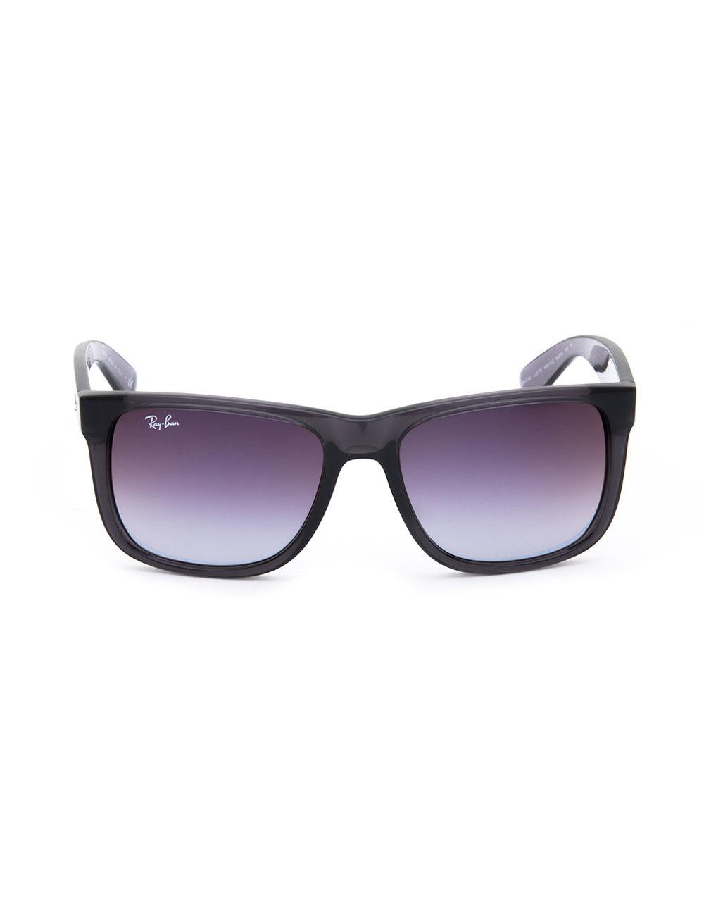 9e8f41e85e ... germany lyst ray ban justin flash gradient grey sunglasses in gray  74cfd 3c9c6