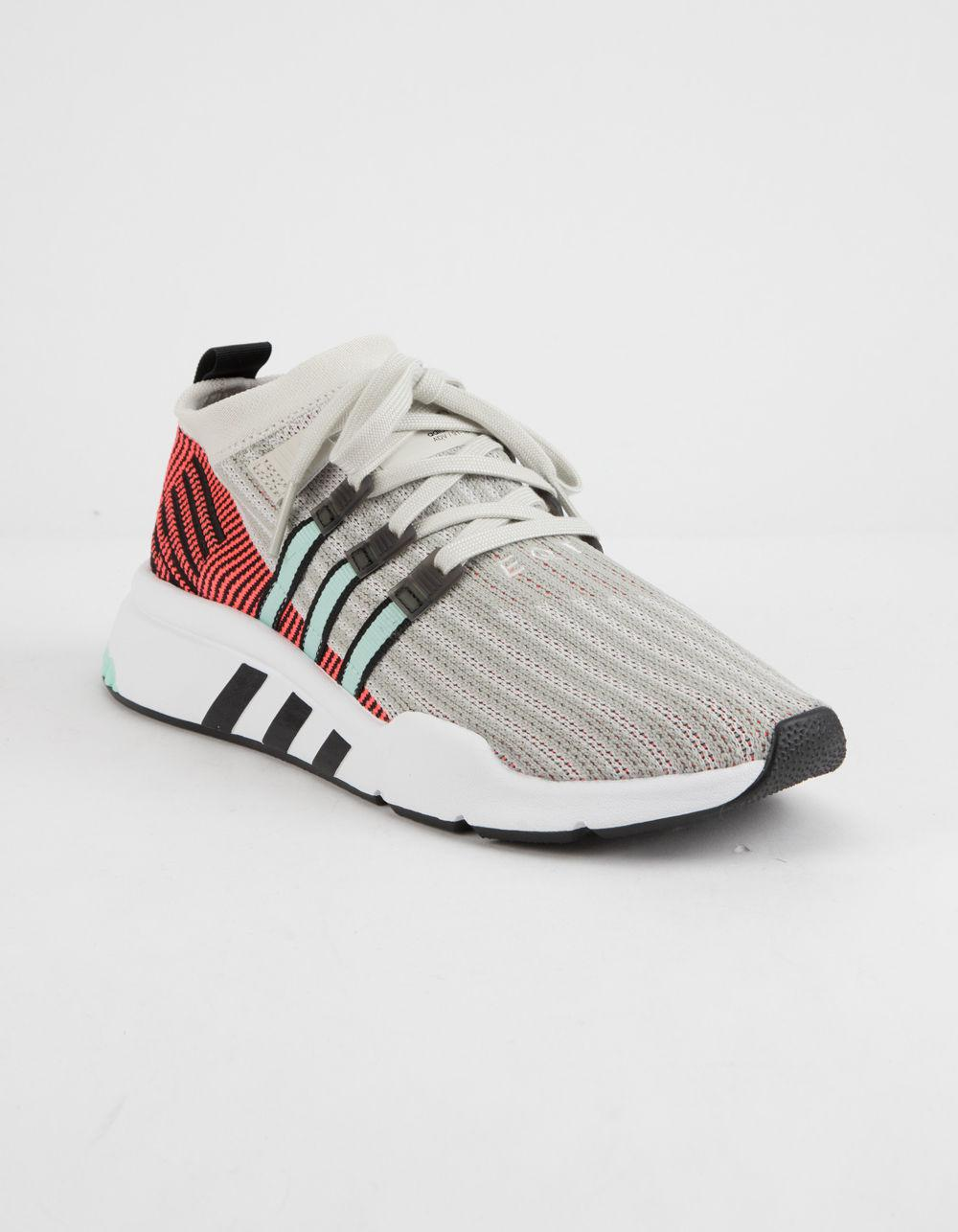 promo code ad991 0f4b3 Lyst - Adidas Eqt Support Mid Adv Primeknit Shoes in Gray