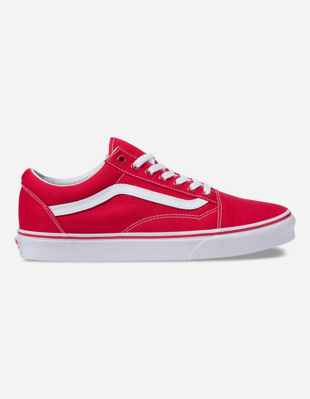 5a66aac6f175d0 Lyst - Vans Canvas Old Skool Formula One Shoes in Red