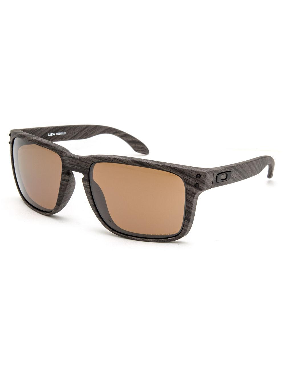 75ead9b5de Oakley. Men s Holbrook Xl Woodgrain   Prizm Tungsten Polarized Sunglasses