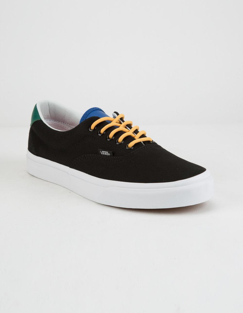 5e19c8a2c0f Lyst - Vans Yacht Club Era 59 Black Mens Shoes in Black for Men