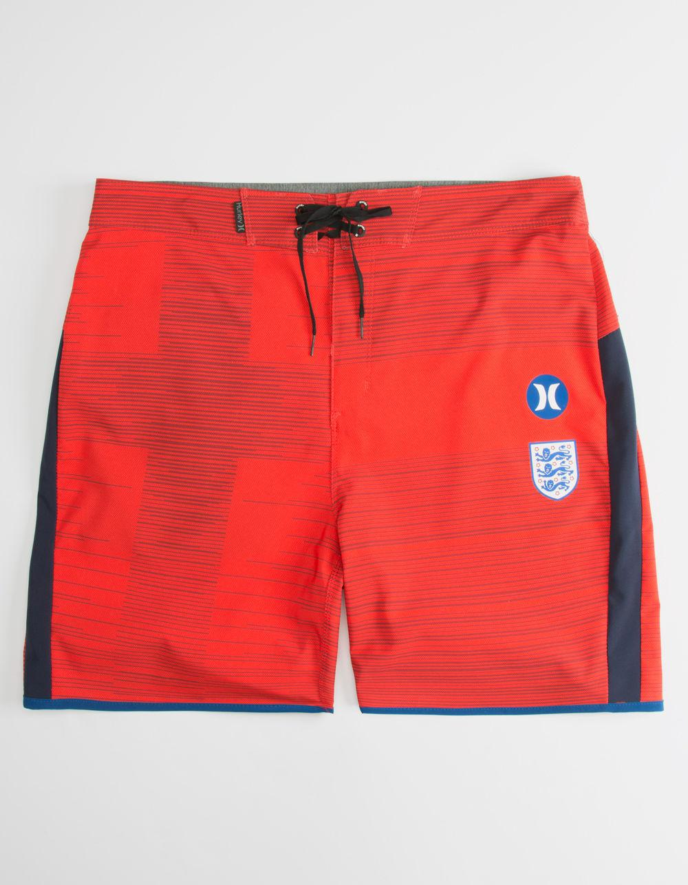 6c0a482f64 Hurley Phantom England National Team Mens Boardshorts in Red for Men ...