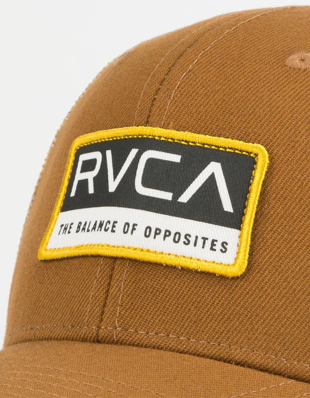 1ef49034de4 Lyst - RVCA Reno Mens Trucker Hat in Brown for Men