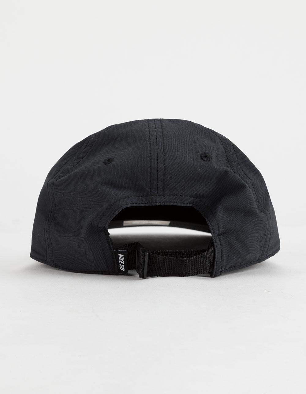 05212cc882a9f ... purchase lyst nike dri fit heritage 86 flat black mens strapback hat in  black for men