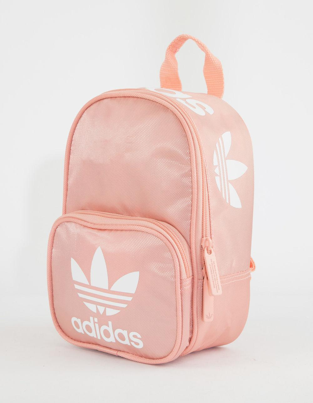 13522d9a9f0 Lyst - adidas Originals Santiago Pink Mini Backpack in Pink