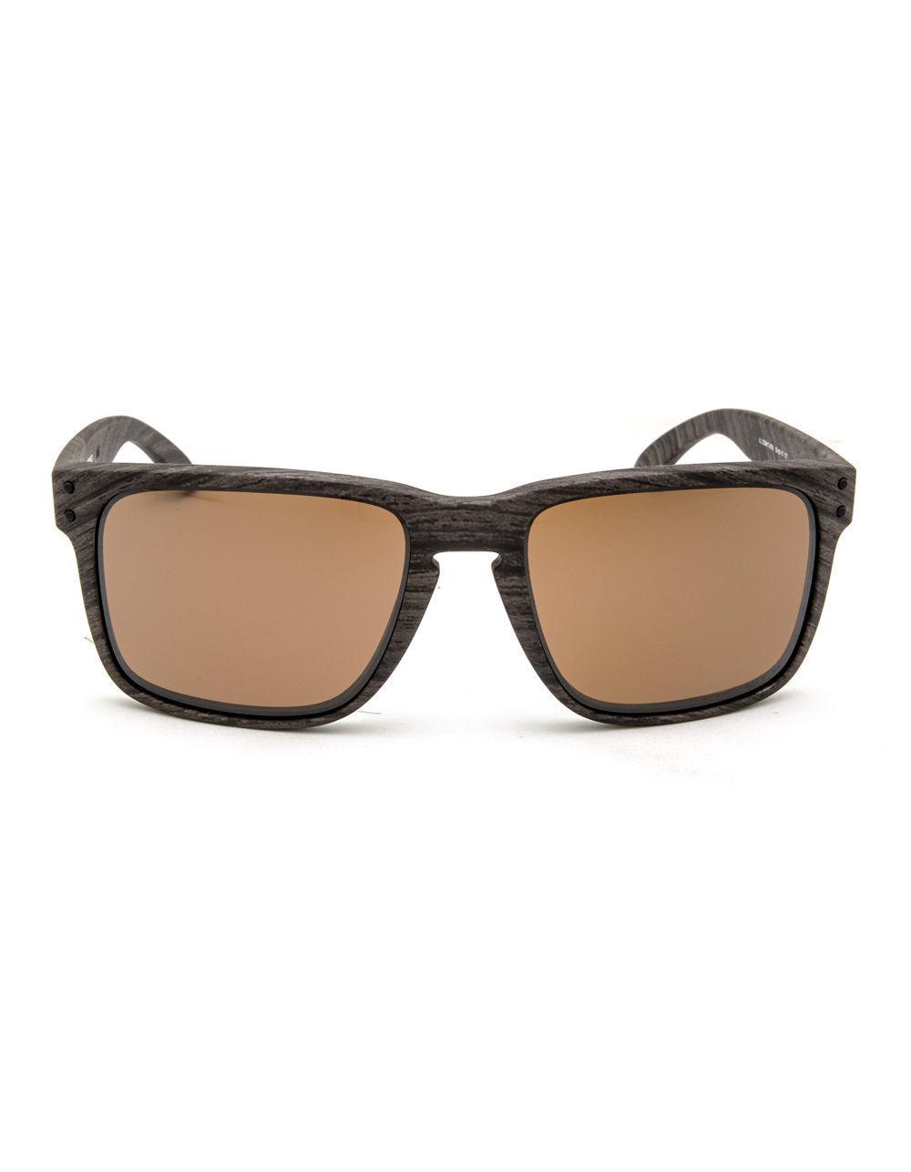 d4dd0b734a Lyst - Oakley Holbrook Xl Woodgrain   Prizm Tungsten Polarized Sunglasses  for Men
