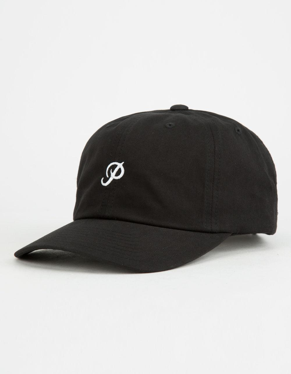 Baseball Cap With Mini Classic Logo In Black - Black Primitive fHmRvvKtR3