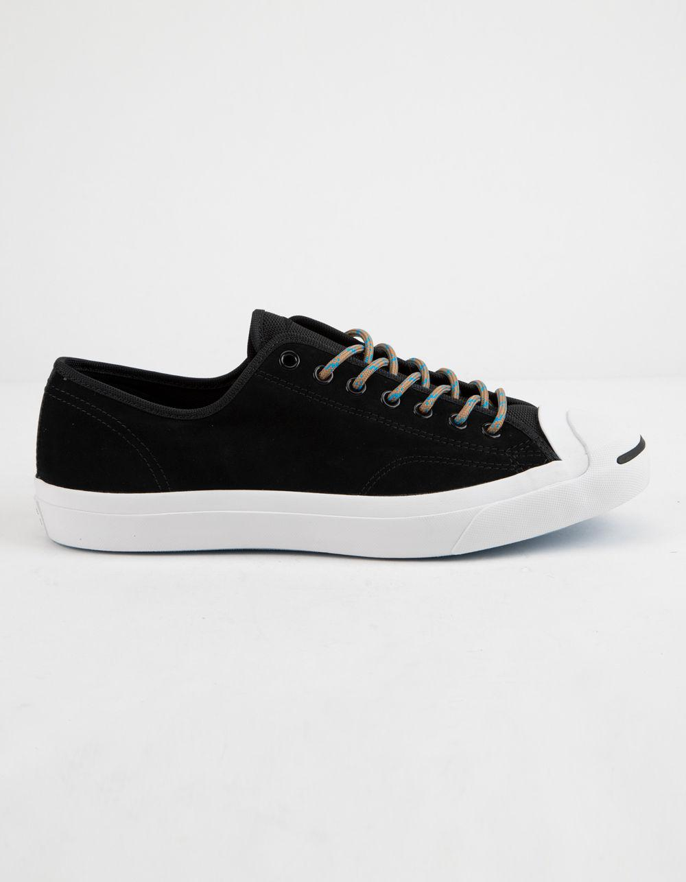 Lyst - Converse Jack Purcell Black Classic Low Top Shoes in Black 2ed3844d3