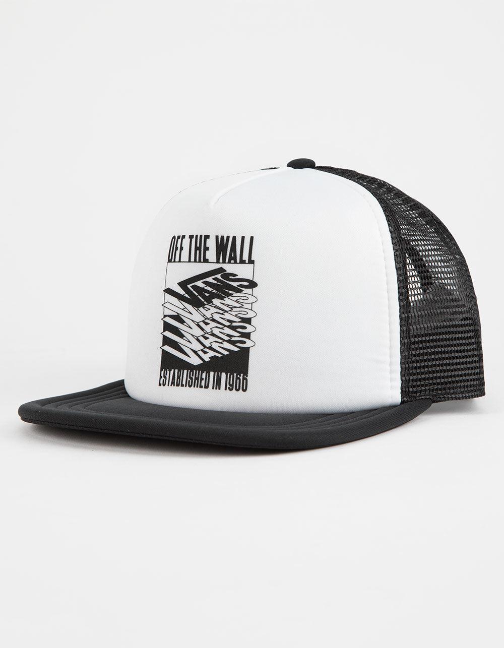 Lyst - Vans Renwick Mens Trucker Hat in White for Men b5270075d