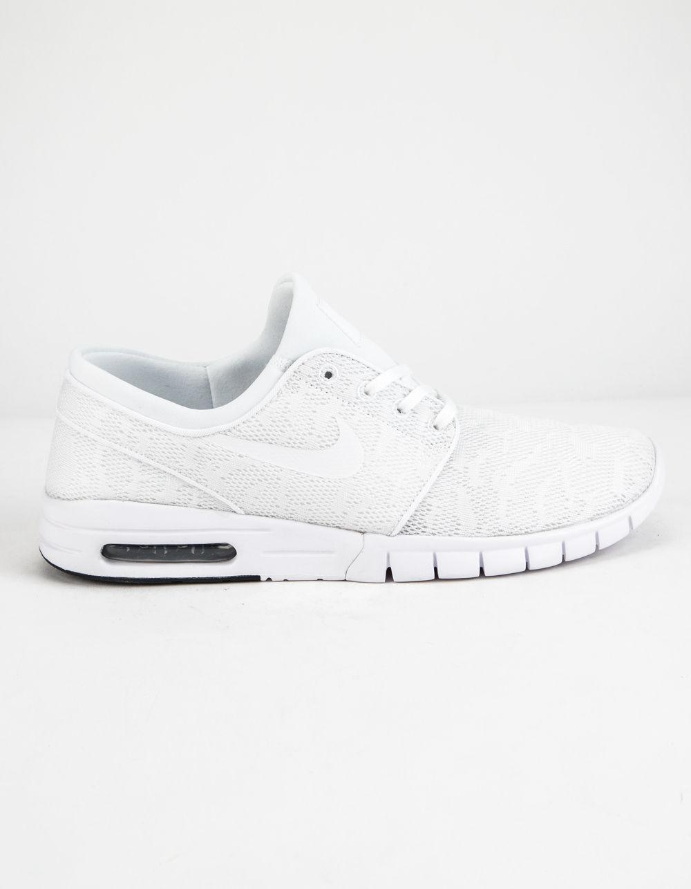 6fc8a1b20d43 Lyst - Nike Sb Stefan Janoski Max Shoes in White for Men - Save 4%