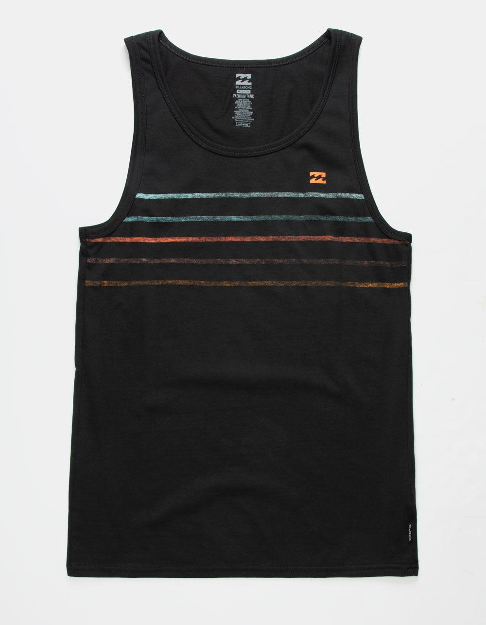 813d24ace63179 Lyst - Billabong Spinner Mens Tank Top in Black for Men