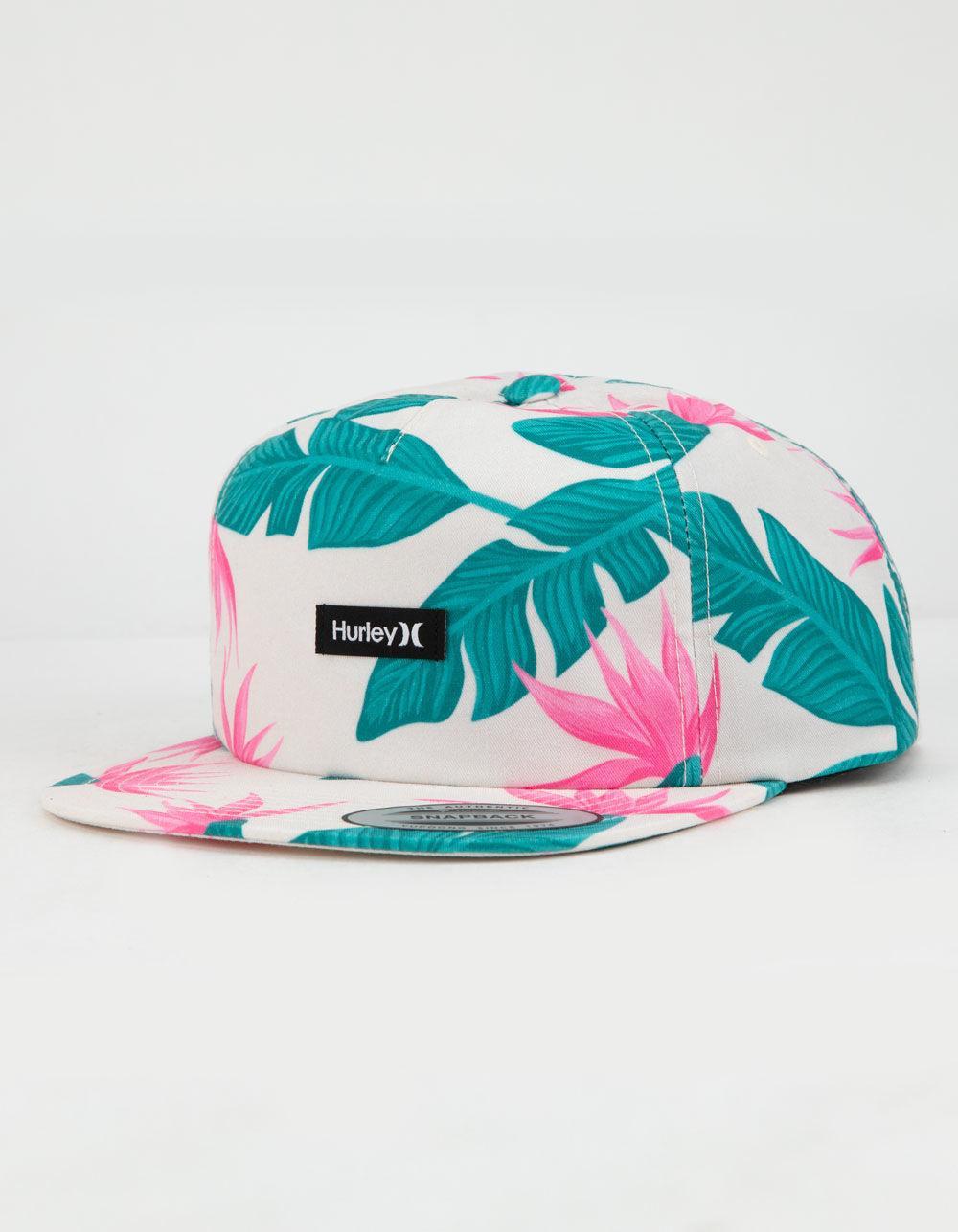 brand new 52aea 1f4fa Hurley. Blue Hanoi Crimson Tint Mens Snapback Hat