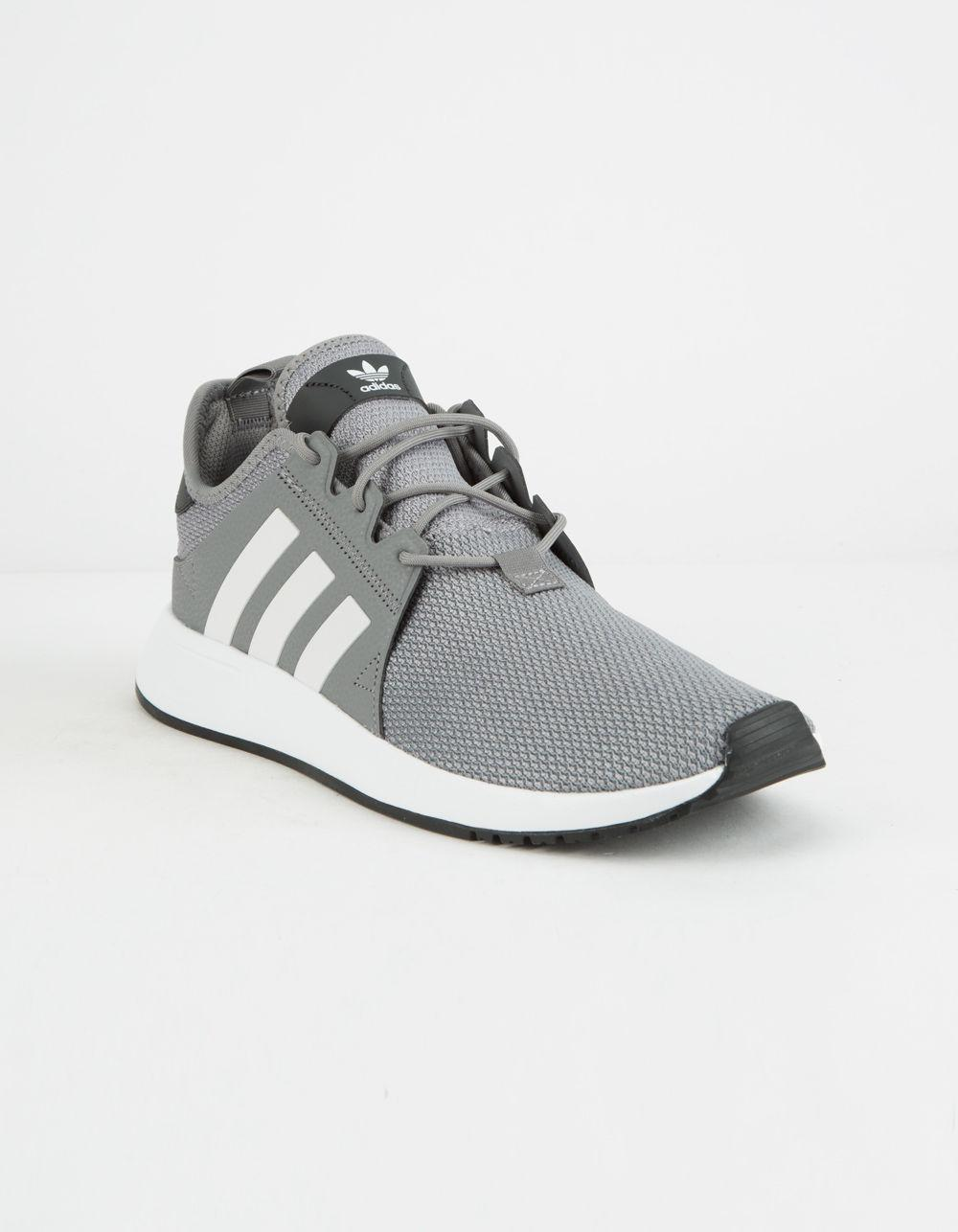 finest selection 76182 dfd56 Lyst - adidas X plr Grey   White Shoes in Gray for Men