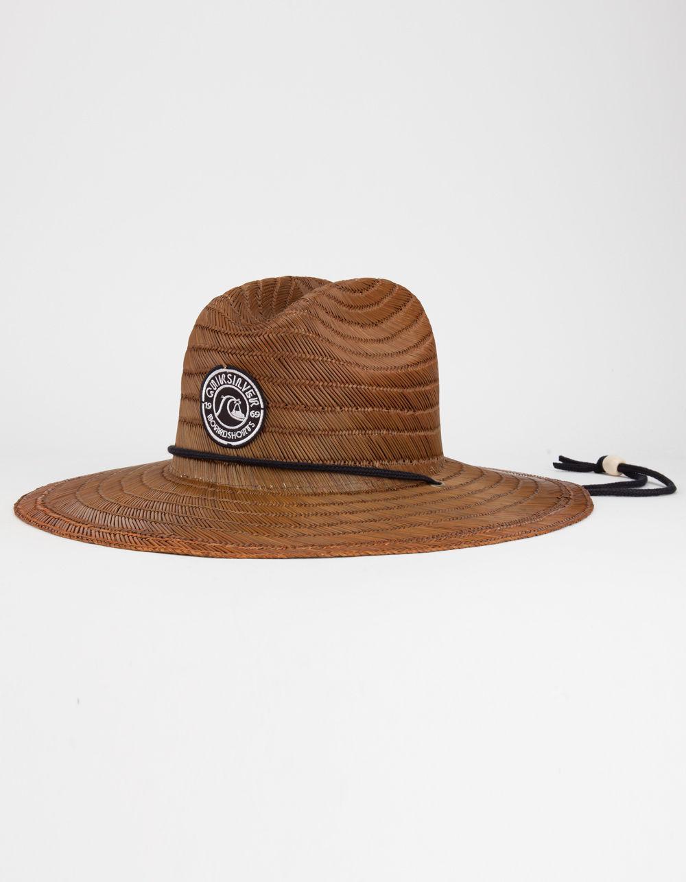 19390ac5 ... authentic lyst quiksilver pierside mens lifeguard hat in brown for men  588e4 7beb5