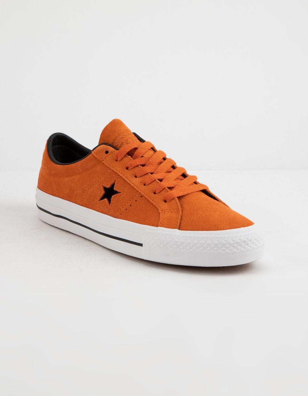 839cdb7edf7a0a Lyst - Converse One Star Pro Ox Campfire Orange Shoes in Orange for Men