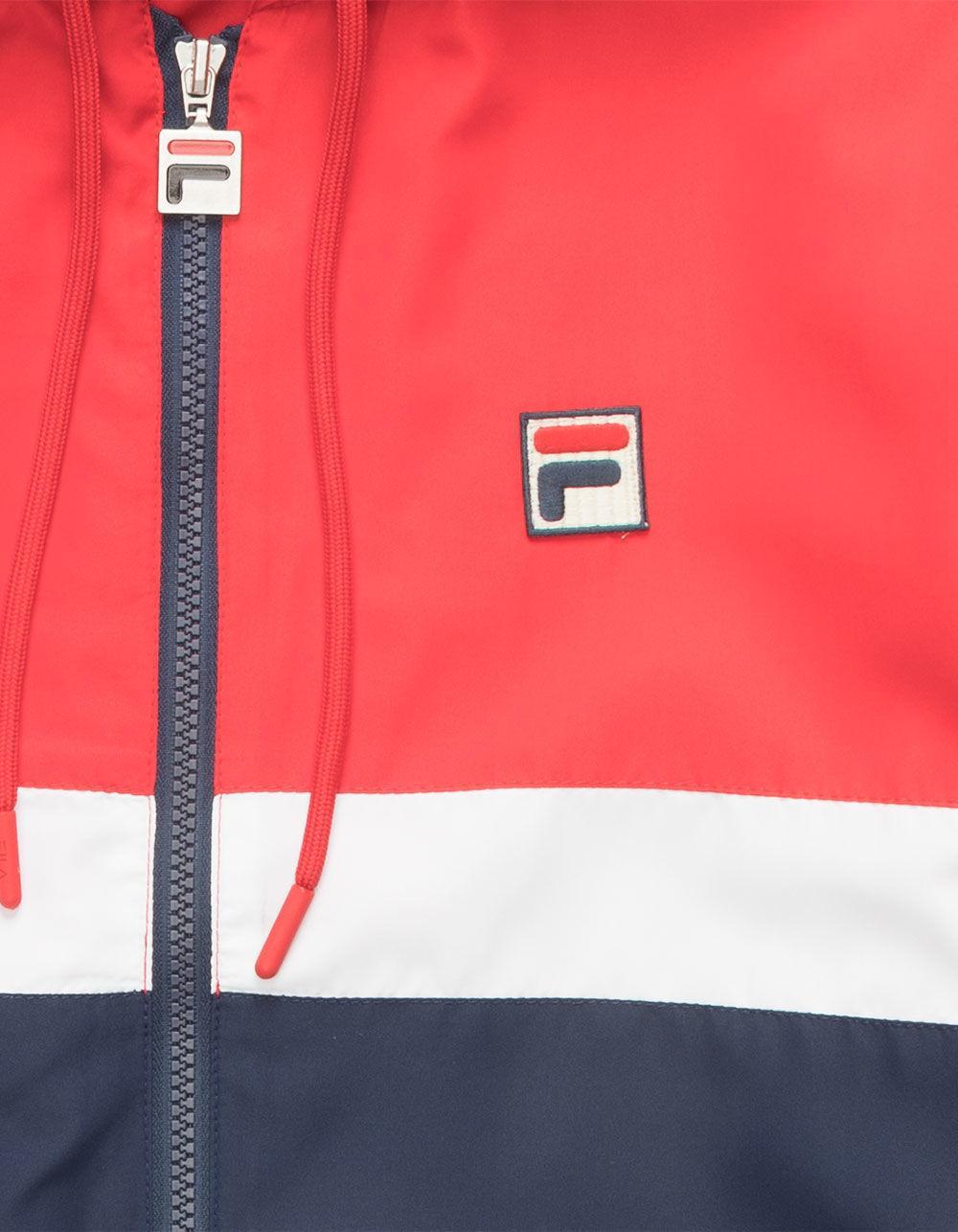 da8e5149d Fila Ambrose Mens Windbreaker Jacket in Red for Men - Lyst