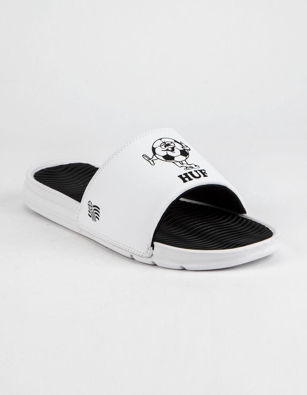 f80339c8677f Lyst - Huf Wc Foul Play Mens Slide Sandals in White for Men