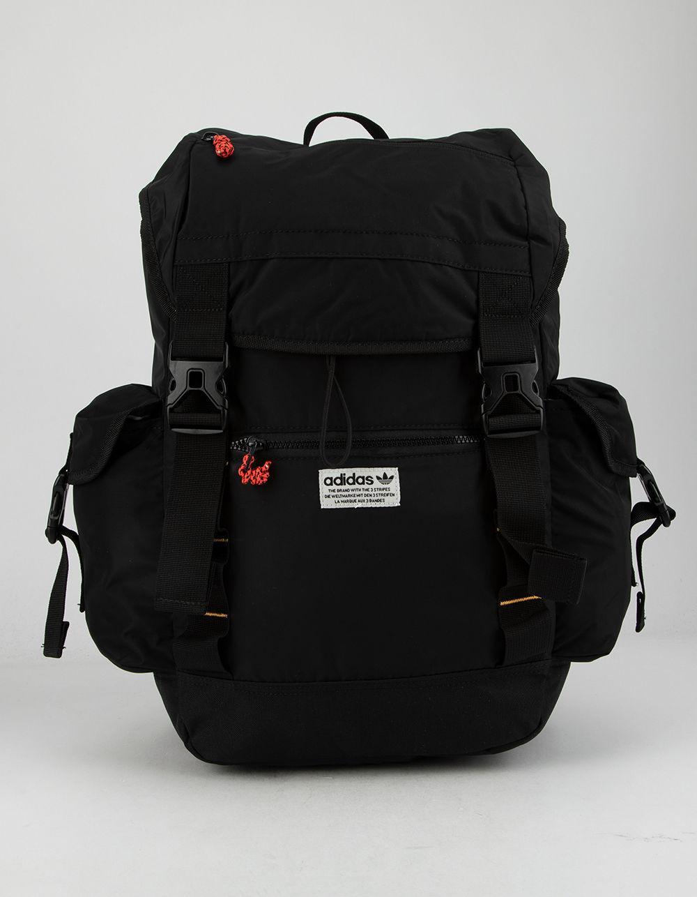 7b2ab660d2 Adidas - Originals Urban Utility Black Backpack for Men - Lyst. View  fullscreen