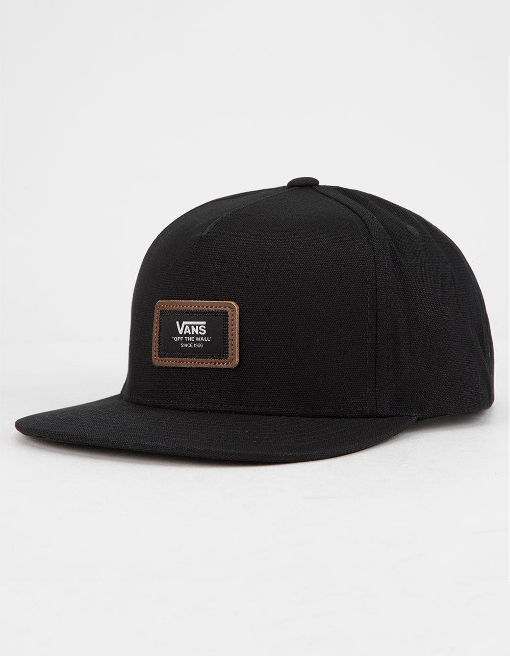 325a2b67d9577c Vans - Black Fiske Mens Snapback Hat for Men - Lyst. View fullscreen