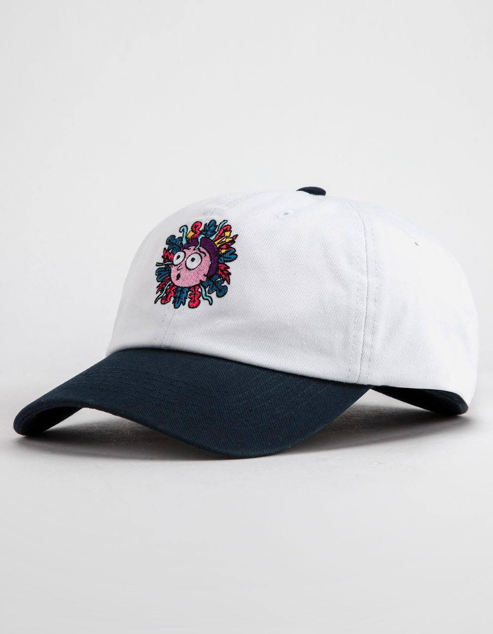 a9f2725a376 Lyst - Primitive X Rick And Morty White   Navy Dad Hat in White for Men