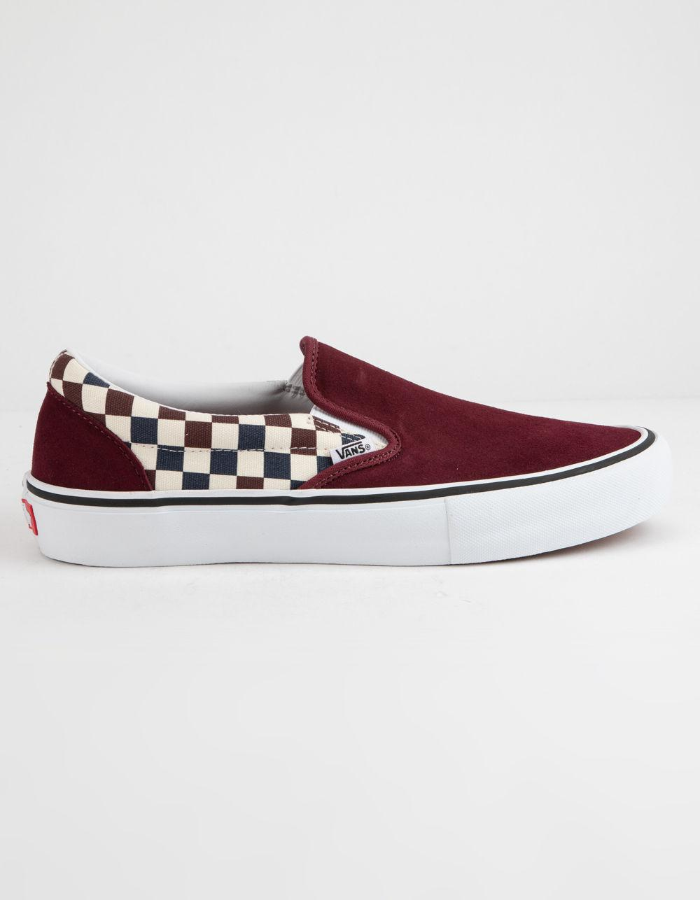 Vans - Red Checkerboard Slip-on Pro Port Royal Royal Shoes - Lyst. View  fullscreen 5c9cf5ed0