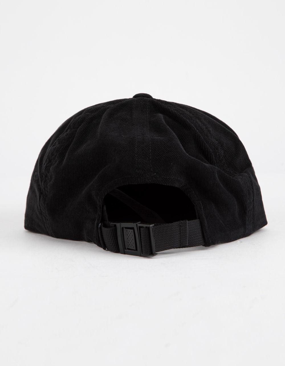 d0de2af67c0b6 Vans Salton Jockey Black Mens Strapback Hat in Black for Men - Lyst