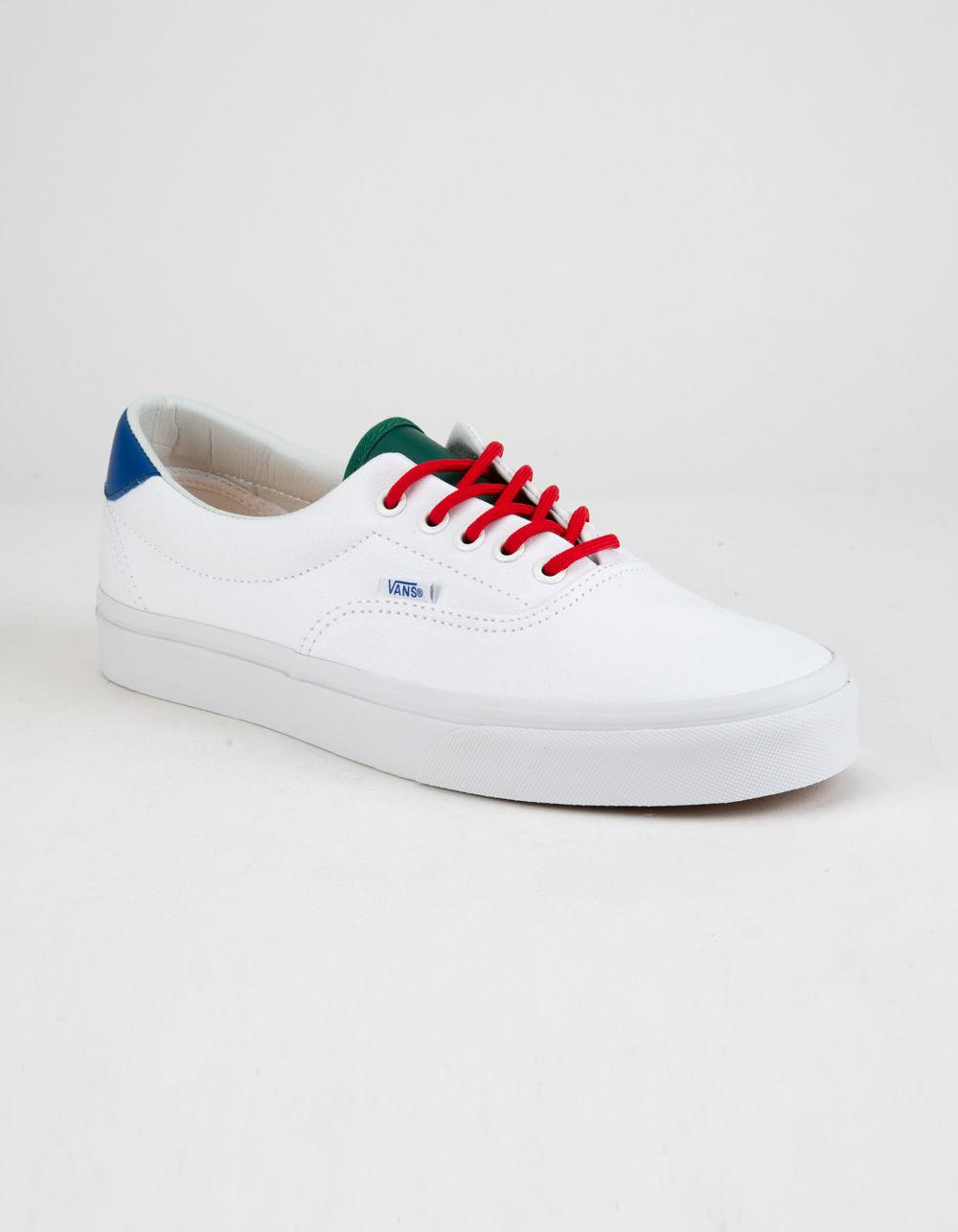 Lyst - Vans Yacht Club Era 59 True White Mens Shoes in White for Men 07740e9c0