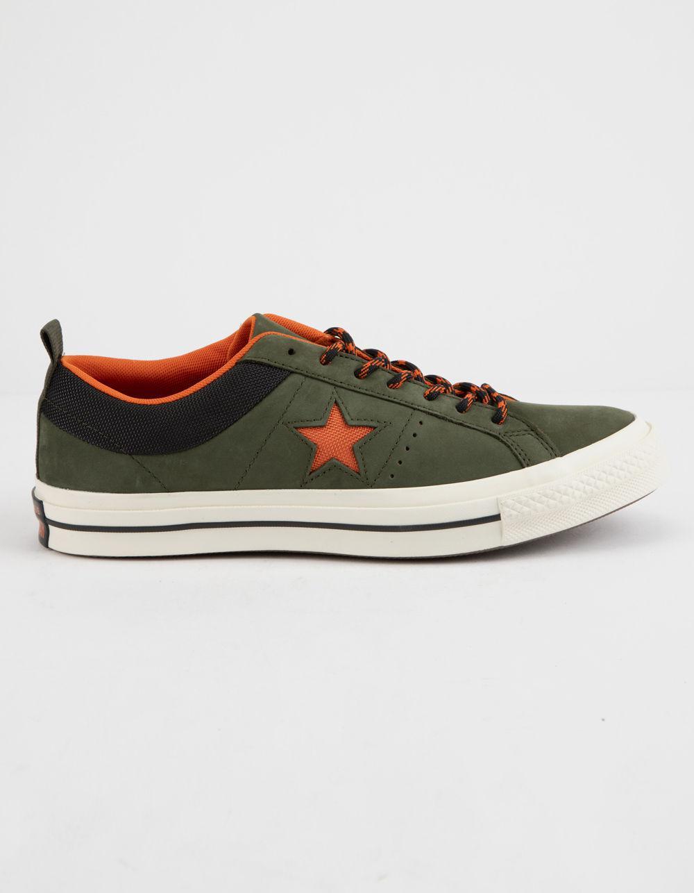 ba49ecf441e Lyst - Converse One Star Ox Sierra Low Top Shoes in Green