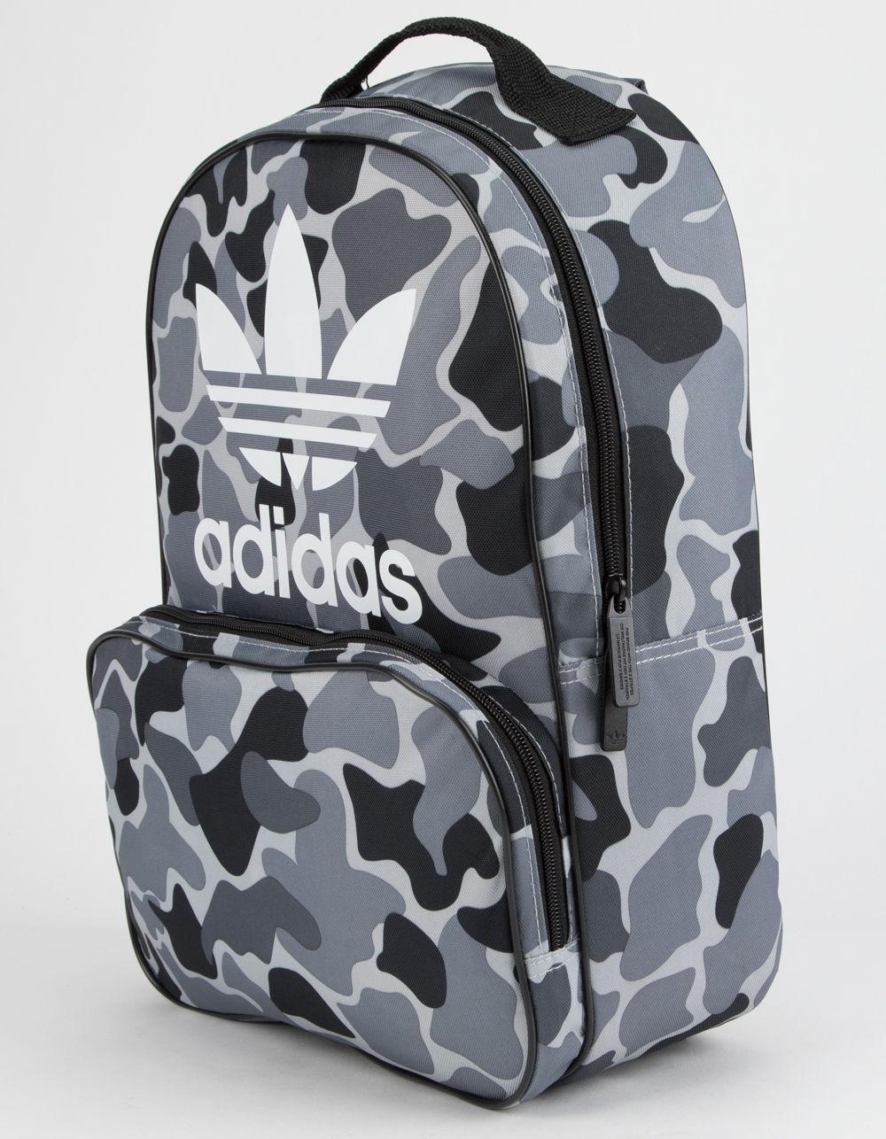 Lyst - adidas Originals Santiago Black Camo Backpack in Black for Men 9635559682682