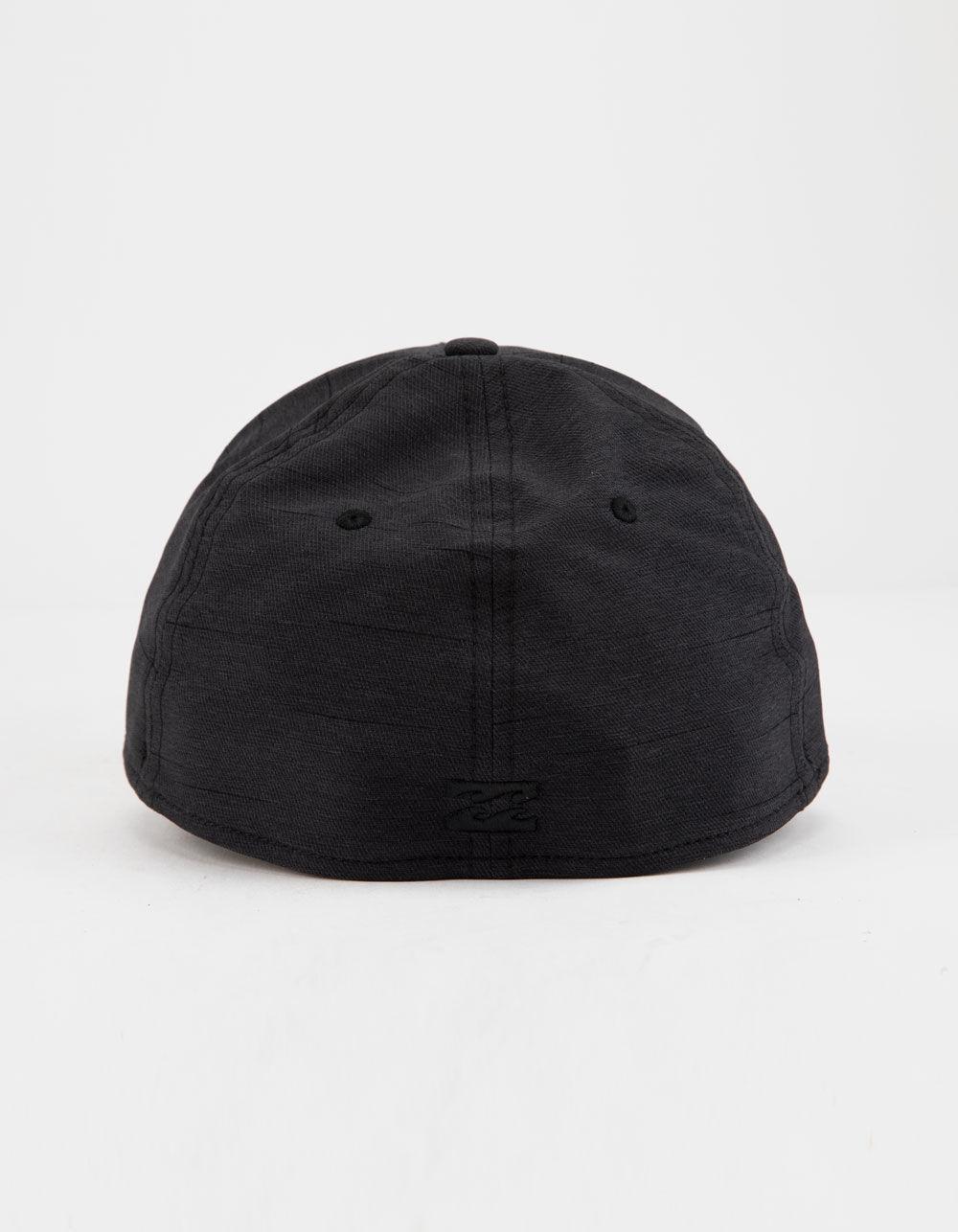 933bba11ba6 Lyst - Billabong Surftrek Black Mens Flexfit Hat in Black for Men