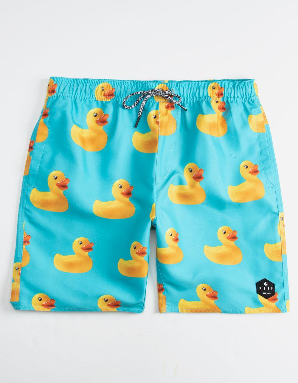 801b7ae8e6820 Neff Ducky Blue Mens Hot Tub Volley Shorts in Blue for Men - Lyst