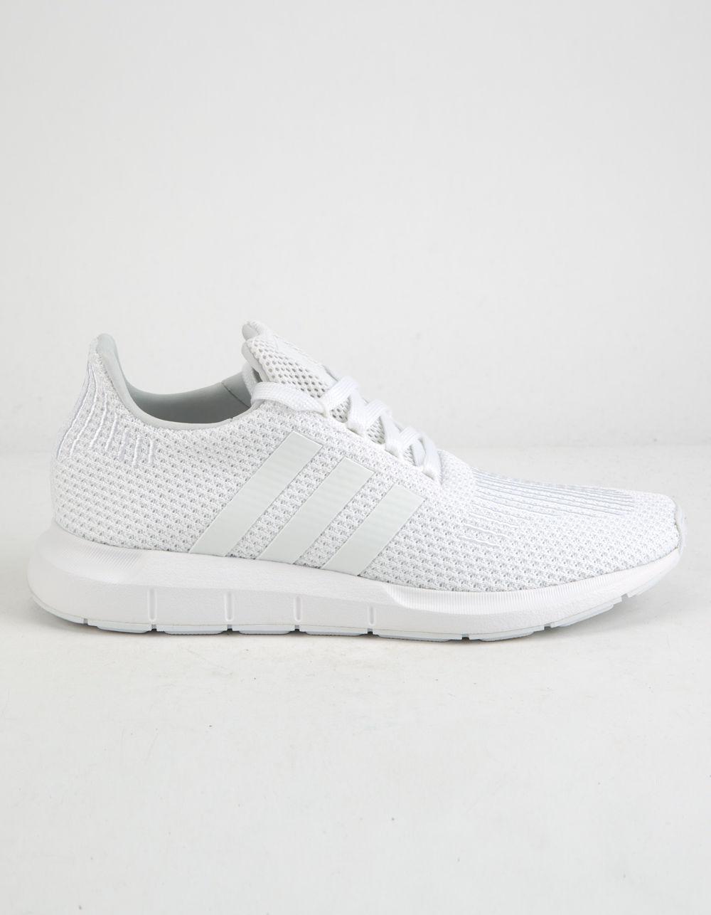 lyst adidas swift run white donne scarpe bianche