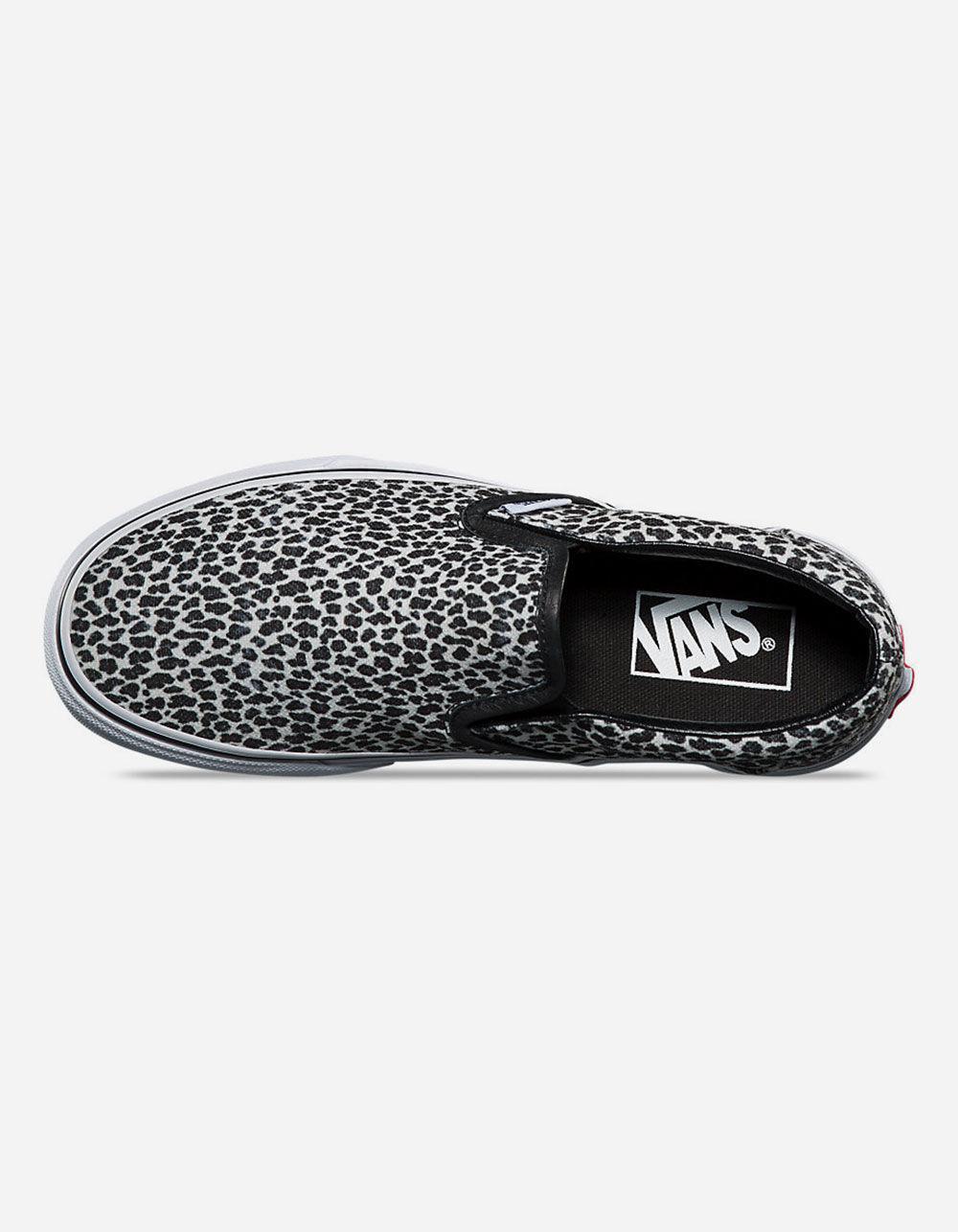 Vans Black Classic Mini Lyst Shoes Leopard On Womens In Slip J3lK1cTF