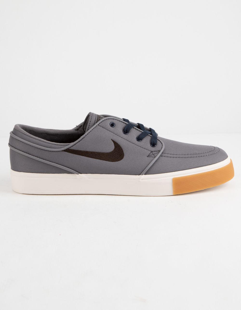 672f835900 Nike Zoom Stefan Janoski Canvas Gunsmoke Shoes in Brown for Men - Lyst