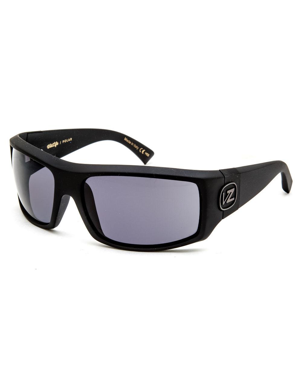 b7366629e6 Lyst - Von Zipper Clutch Matte Black   Grey Wildlife Sunglasses in ...