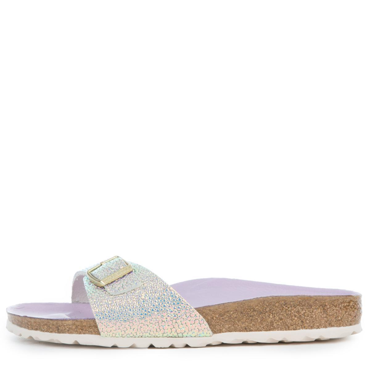 bcdc5859323 Lyst - Birkenstock Madrid Ombre Pearl Silver Orchid Sandals in Metallic