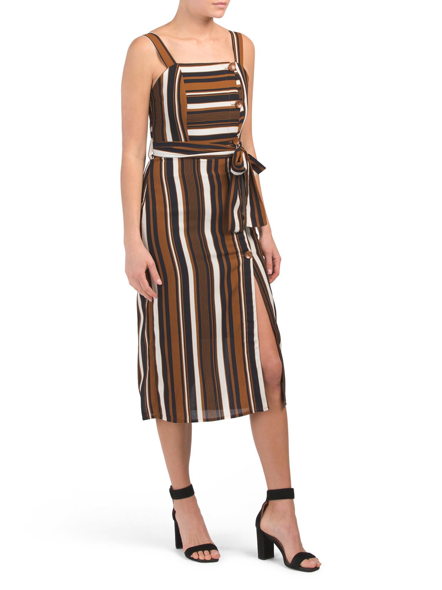 368b45fb02a9 Tj Maxx. Women's Juniors Tie Waist Midi Dress
