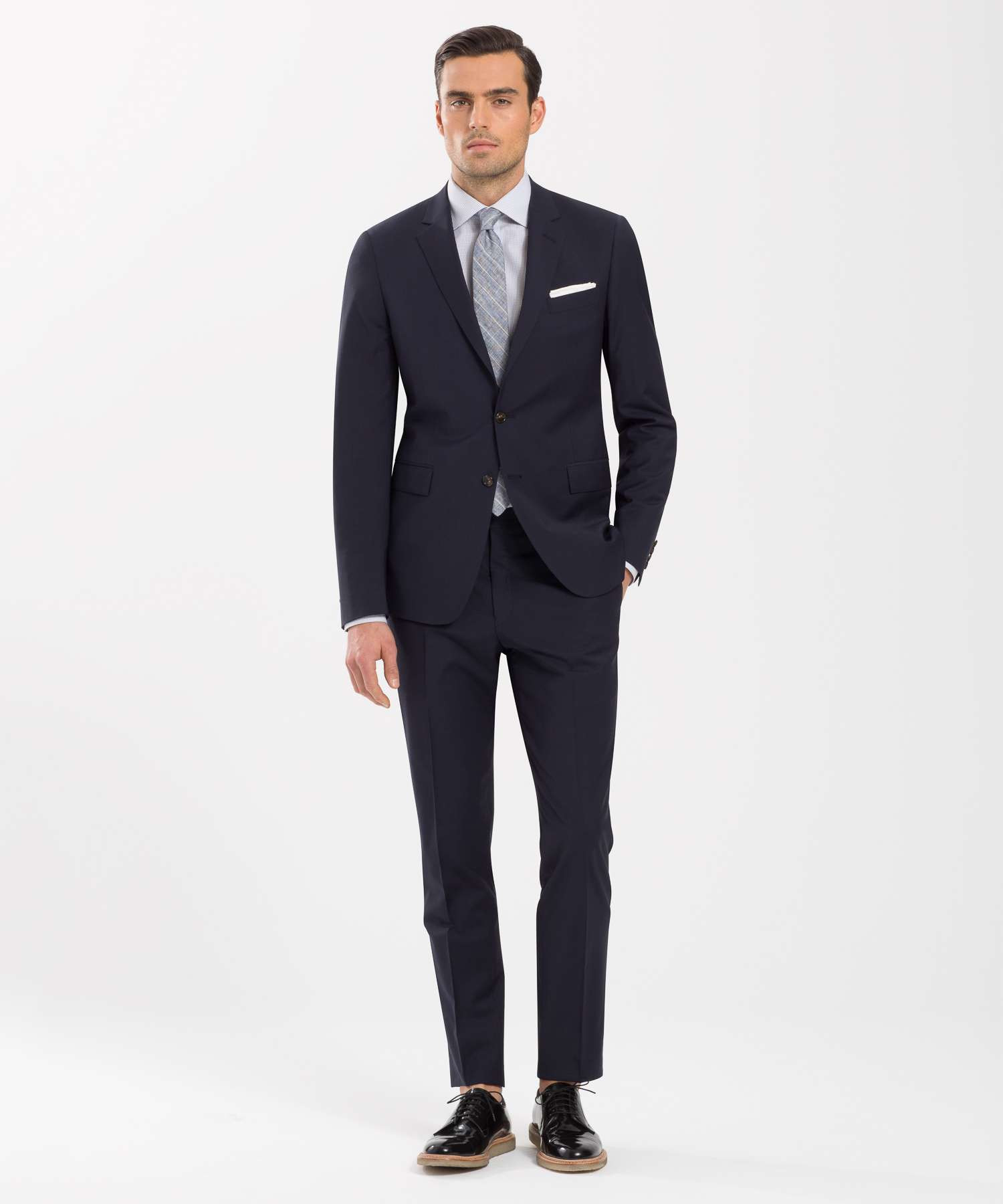 Todd Snyder The Mayfair White Label Suit In Navy In Gray
