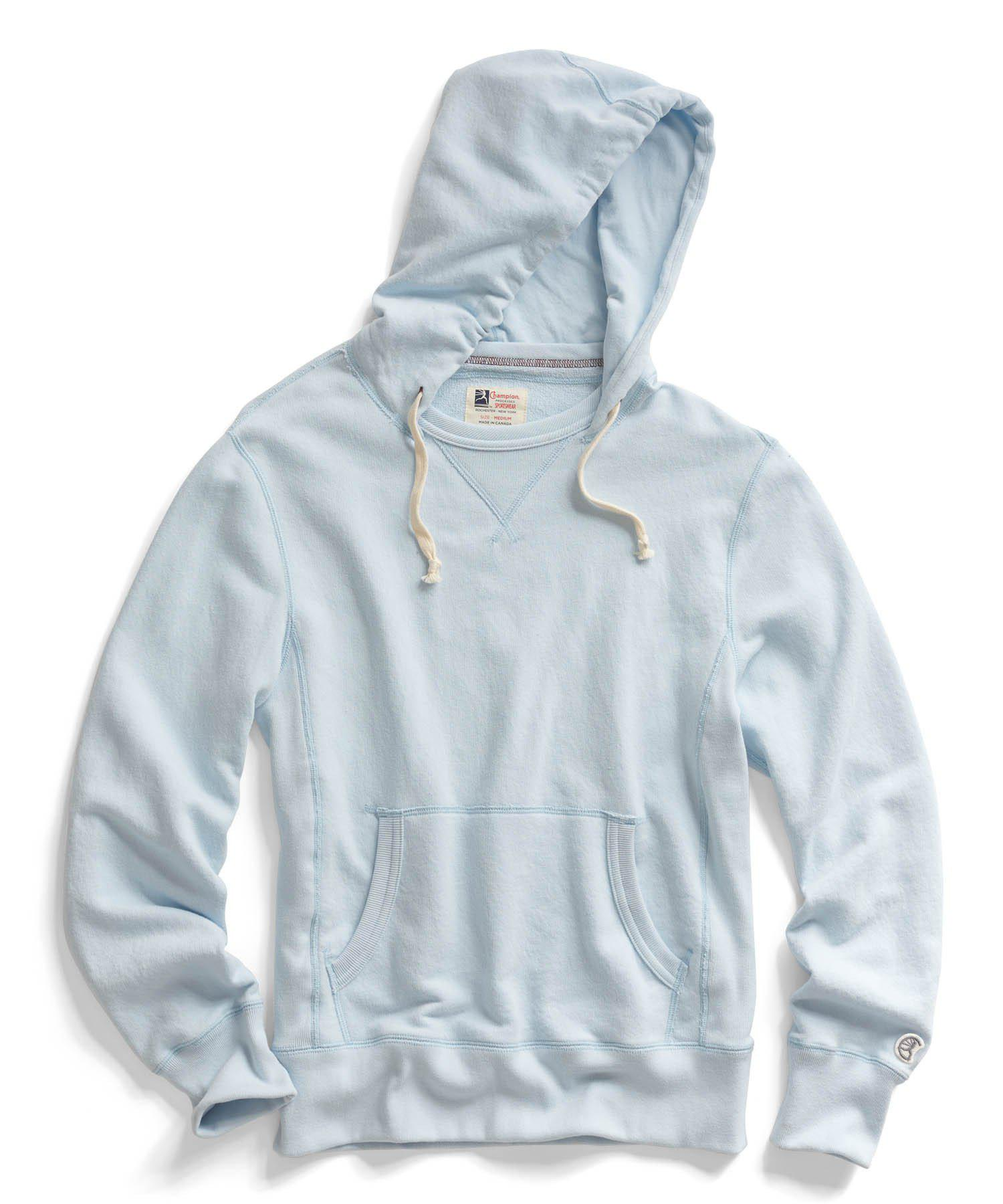 01046e3f Lyst - Todd Snyder Pale Surf Hoodie in Blue for Men