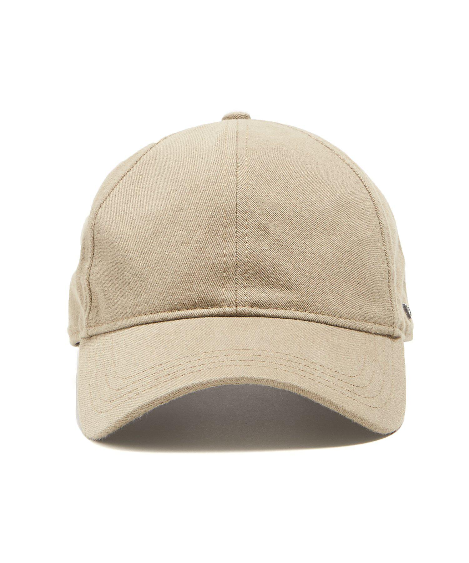 5b74702c NEW ERA HATS Dad Hat In Khaki Selvedge Chino in Natural for Men - Lyst