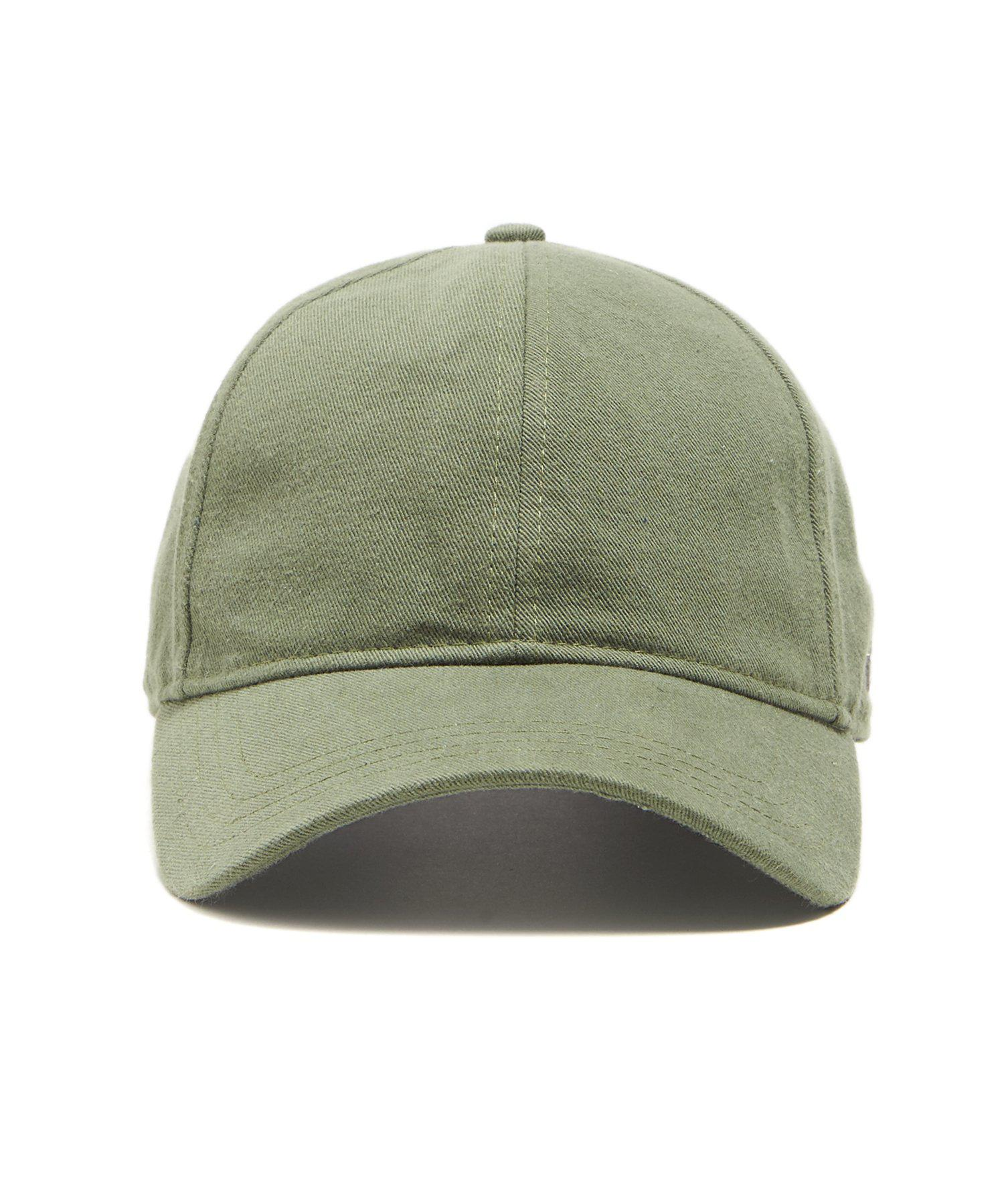 Lyst - NEW ERA HATS Dad Hat In Olive Selvedge Chino in Green for Men fe9c12b3c29