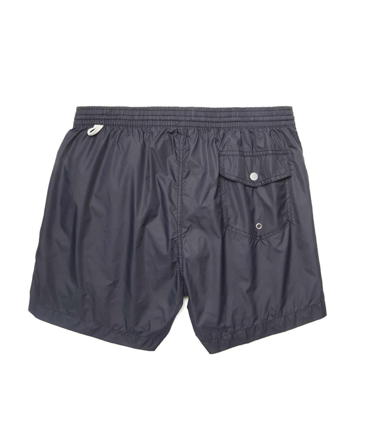57b7c9d4c7333 Hartford Kuta Solid Swim Trunks In Black in Black for Men - Lyst