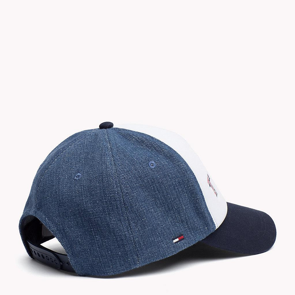 91bb8d57779 Tommy Hilfiger Retro Baseball Cap in Blue for Men - Lyst