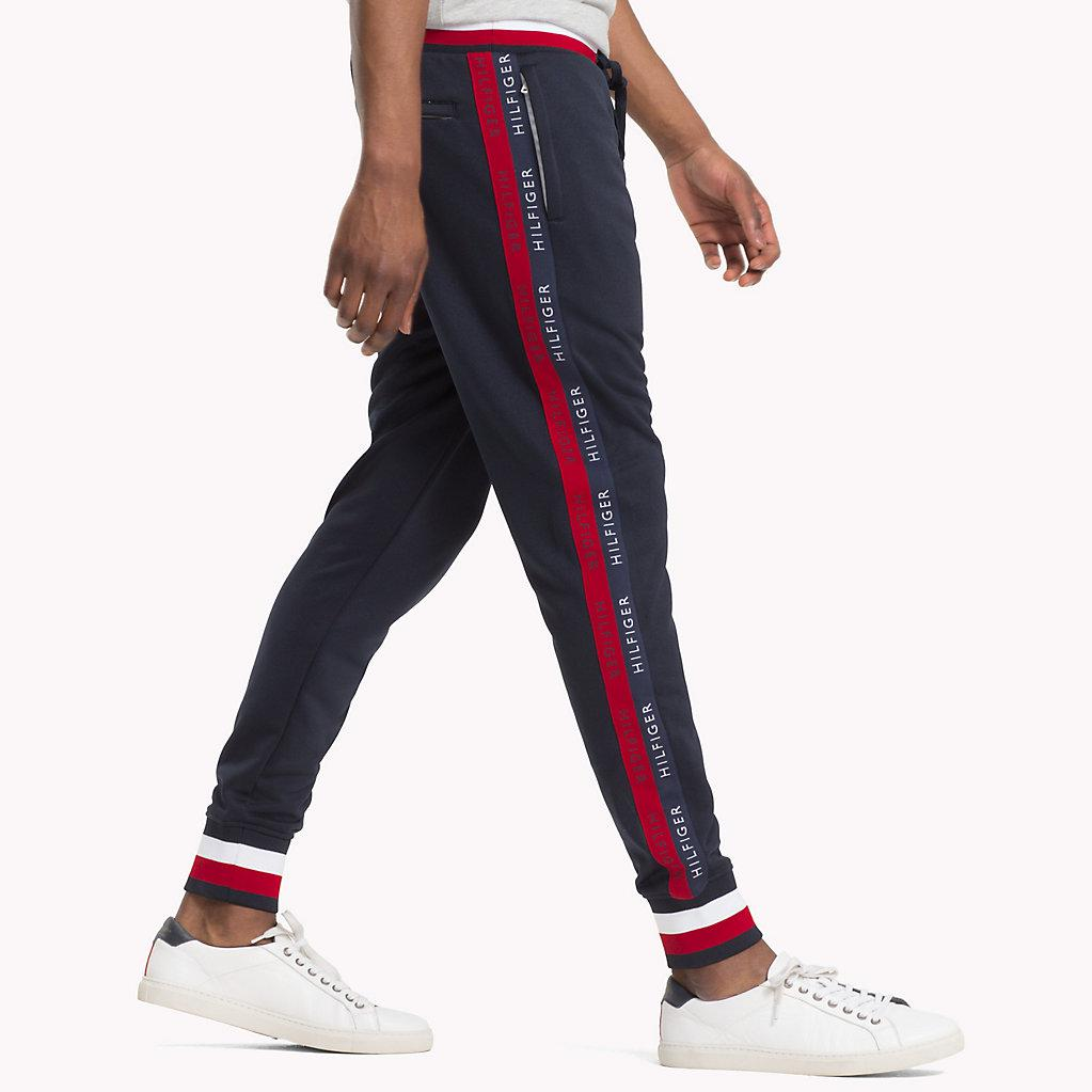 41610d12 Tommy Hilfiger Athletic Joggers in Blue for Men - Lyst