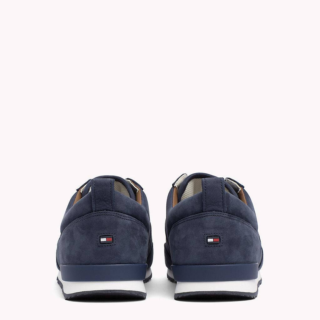 648b5b27e35f Tommy Hilfiger Iconic Nubuck Trainers in Blue for Men - Lyst