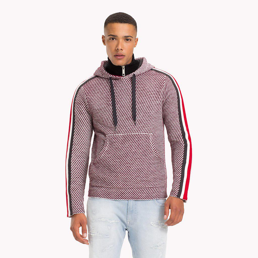 2060e2f2 Tommy Hilfiger Lewis Hamilton Striped Hoodie in Red for Men - Lyst