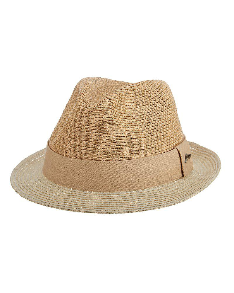 Lyst - Tommy Bahama Two-tone Fine Paper Braid Fedora in Natural for Men 472d39c4e601