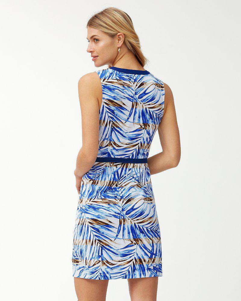 8919d59bc3 Lyst - Tommy Bahama Mai Le Lei Belted Sundress in Blue