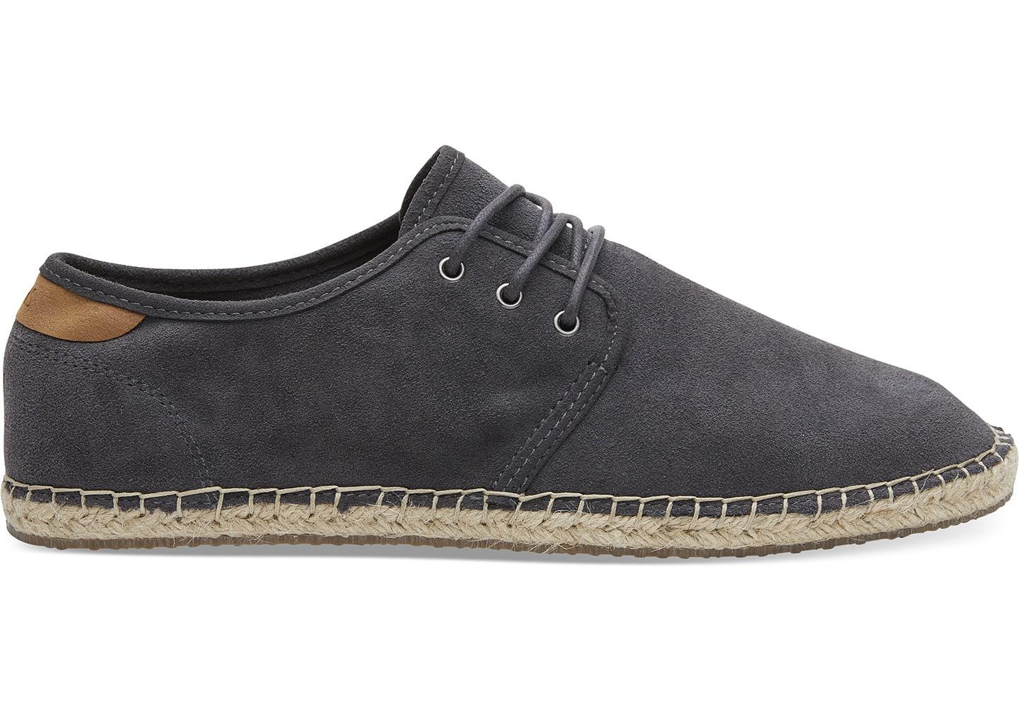 25c38e54185 Lyst - TOMS Forged Iron Grey Suede Men s Diego Sneakers in Gray for Men