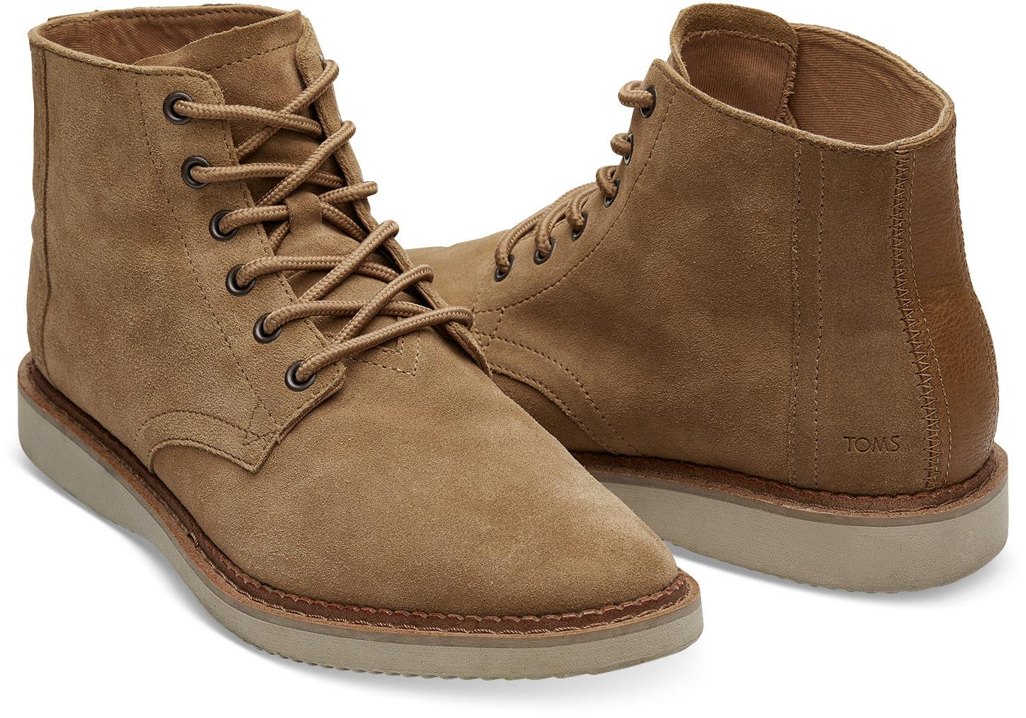e767d68f143 TOMS - Brown Toffee Suede Porter for Men - Lyst. View fullscreen